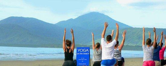 Yoga On The Beach Port Douglas