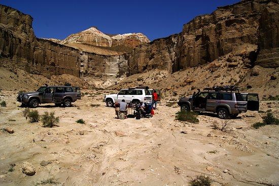 Balkan Province, Turkmenistán: Yangykala canyons