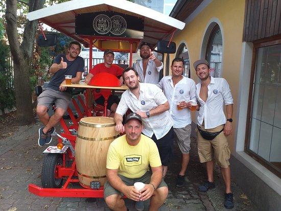 Beer Bike Bratislava