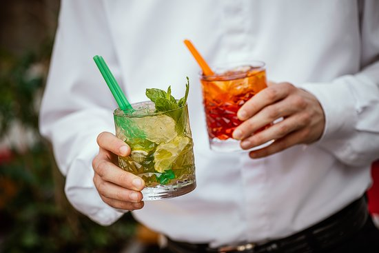 A cocktail can be made by the bartender. But the cocktail also can be made by the chef.