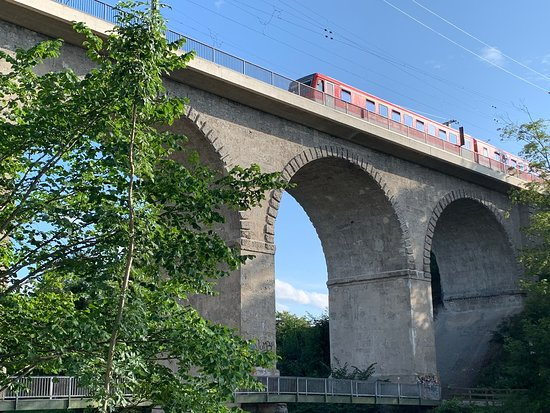 Viadukt Eisenbahnbrücke
