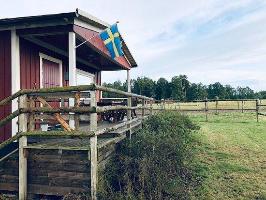 Sloinge, สวีเดน: Petite halte dans un havre de paix!