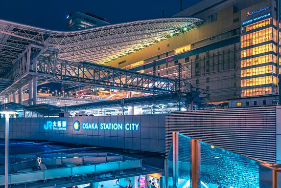Super Crowded And Easy To Get Lost Review Of Osaka Station City