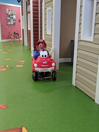 Discovery Town has a Fire Station, Doctors Office, Dentist Office and Veterinary Office