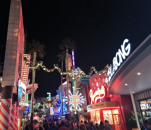 Universal Citywalk Hollywood Los Angeles 2019 All You