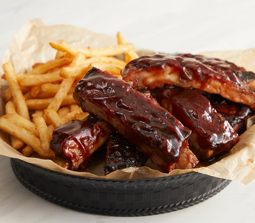 Barbecue Ribs Basket Picture Of Country Kitchen Restaurant New Hope Tripadvisor