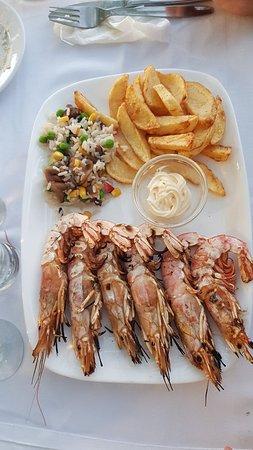 Typisch griechische Taverne