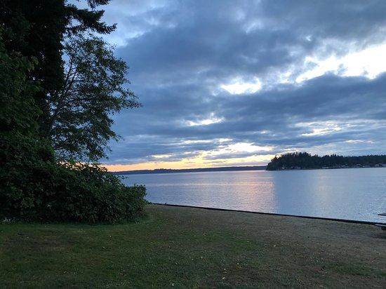 Fox Island, WA: Sunset