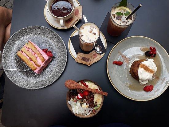 torta vaniglia lampone, superbowl, matcha pancakes