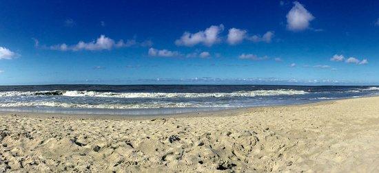 Plaża największy i najszersza na Pomorzu