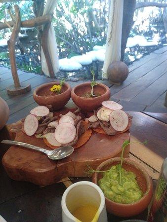 Cenote comida excelente