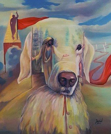 Surrealisme - time flags - Mourad Fouad Surréaliste - Drapeaux de temps - Mourad Fouad