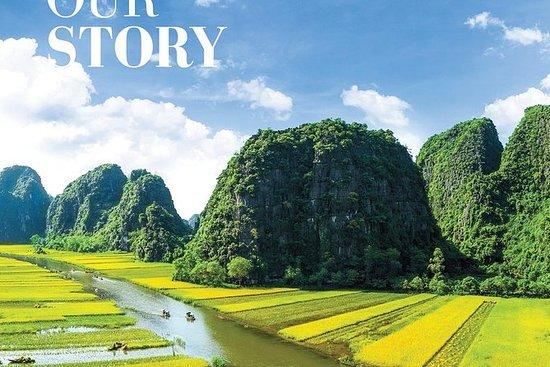 Hoa Lu - Mua grotte - Tam Coc båt...