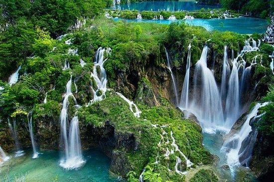 Schöne Plitvicer Seen & Gedenkstätte...