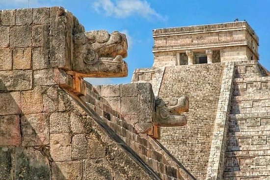 Chichen itza magic tour nuotare nel