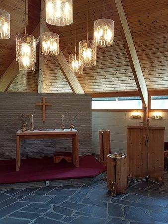 Eggedal, Norge: Hyggelig i  fjellkirken