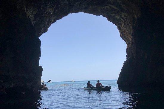 Kajak en kano en snorkelavontuur ...