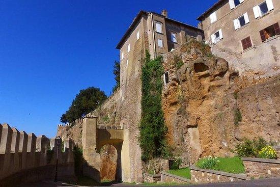 ローマからのローマの魅惑的な田舎のプライベート日帰り旅行