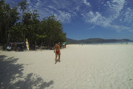 Boat trip and trail to Lopes Mendes...