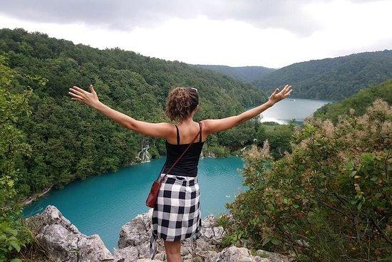 Plitvice湖泊的半日徒步之旅