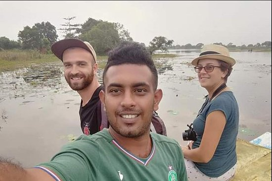 Sri Lankas turistsjåfør med stor...