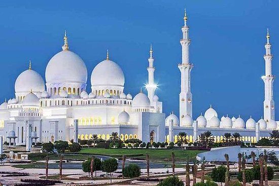 Abu Dhabi City Tour fra Dubai