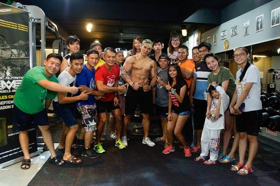 Sungai Besar, Malezja: The Worriors Gym and Fitness Centre