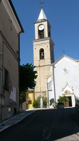 Roccaspinalveti, Włochy: как же без базилики!