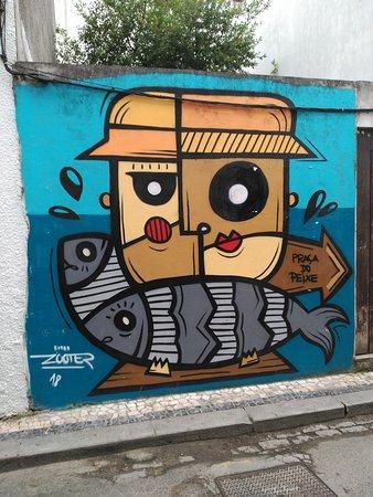 מחוז אביירו, פורטוגל: Curioso mural