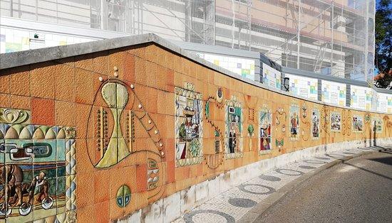 מחוז אביירו, פורטוגל: Mosaicos y más mosaicos