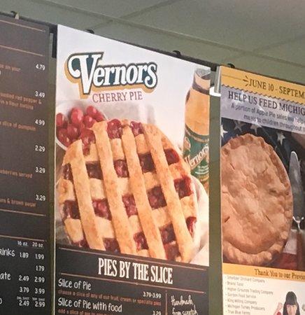Vernor's Cherry Pie!