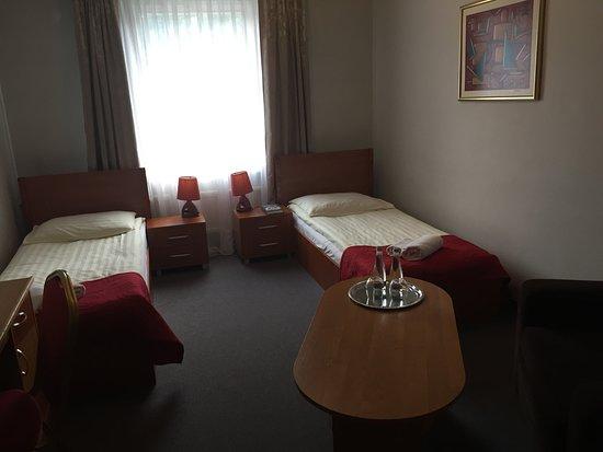 Jastrzebie-Zdroj, โปแลนด์: Pokój dwuosobowy z dwoma pojedynczymi łóżkami