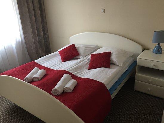 Jastrzebie-Zdroj, โปแลนด์: Sypialnia w pokoju typu studio