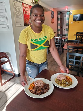 Curried Goat And Oxtail Picture Of Jamaican Food Basket Saskatoon Tripadvisor