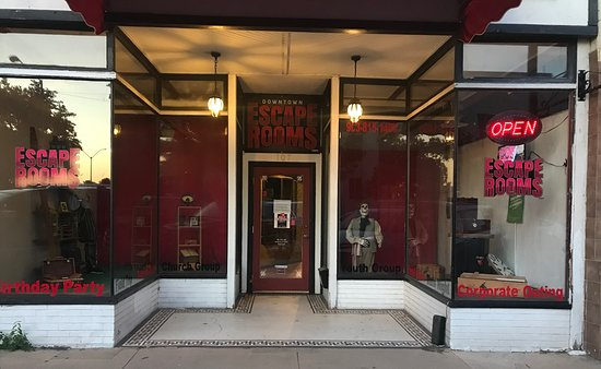 Downtown Escape Rooms located at 107 S. Travis in downtown Sherman, Texas.