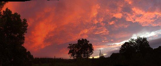 le ciel au retour