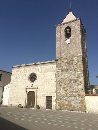Chiesa di San Basilio Magno. Serri .