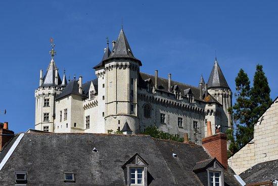Saint-Hilaire-Saint-Florent, فرنسا: The Castle at Saumur