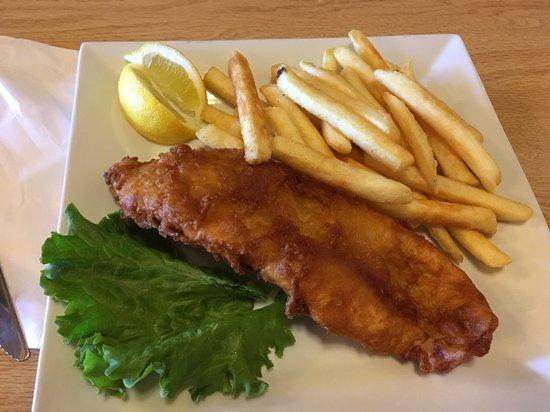 Dove Creek, Колорадо: Perfect Fish & Chips