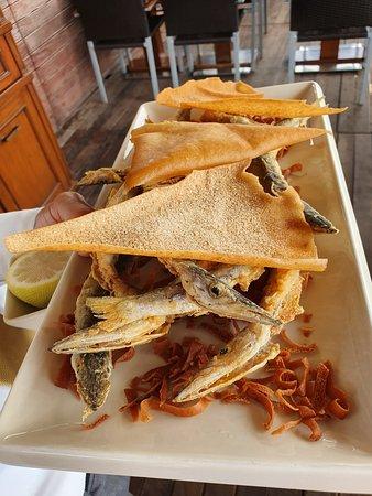fried baby barracudas