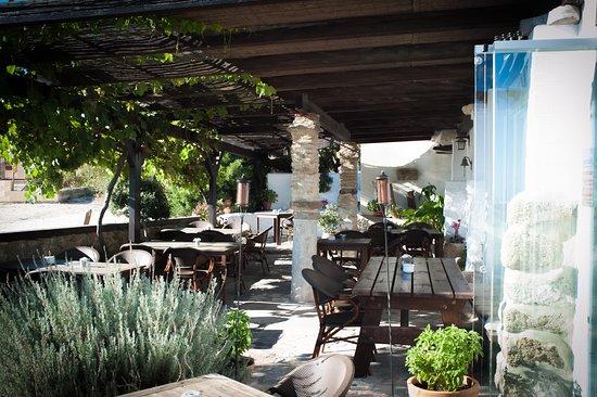 Restaurante Patría: Terrace