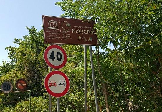 Nissoria, إيطاليا: All'ingresso  di Nissoria