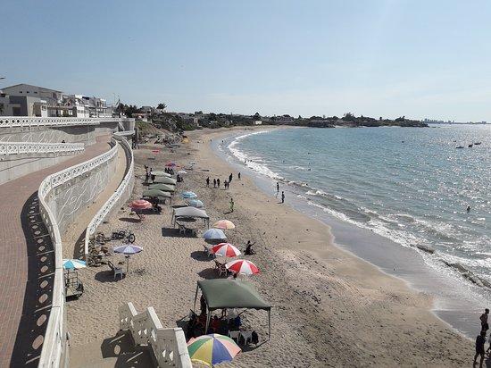 Ballenita, Ekwador: Vista del día desde el Malecón