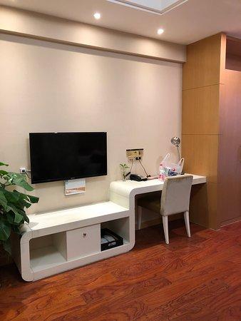 Dezhou, Китай: 房間內電視櫃