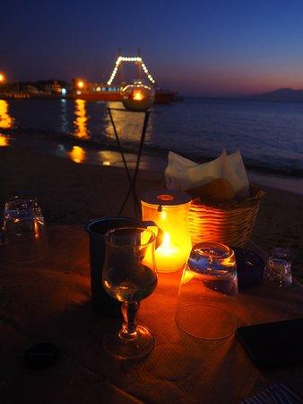 Una cena romantica perfetta.