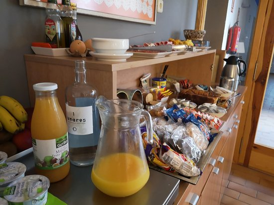 Ateca, Hiszpania: Desayuno buffet libre