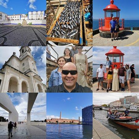 Benedita, البرتغال: Lisbon to porto with stop at Óbidos Nazaré Alcobaça Fátima Coimbra and Aveiro 