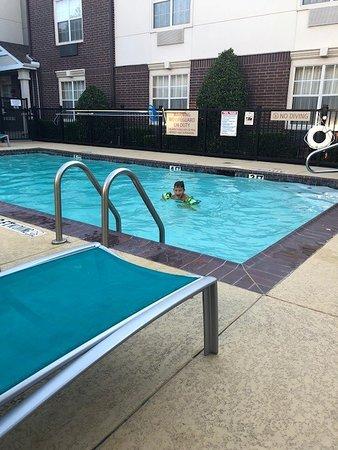 My kiddo Swimming!