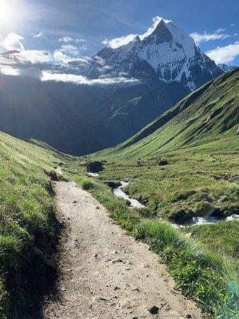 Speedy Annapurna base camp trek