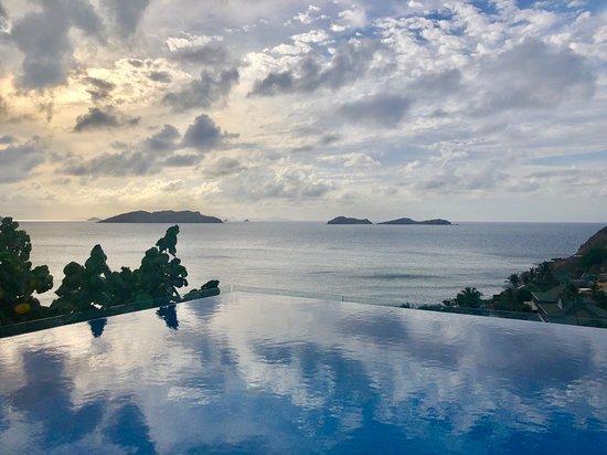 Pointe Milou, Saint-Barthélemy: Infinity pool at Villa Upside